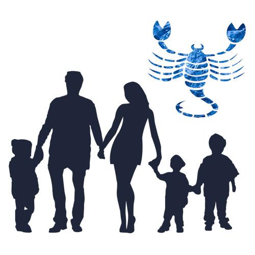 zodia scorpion familia