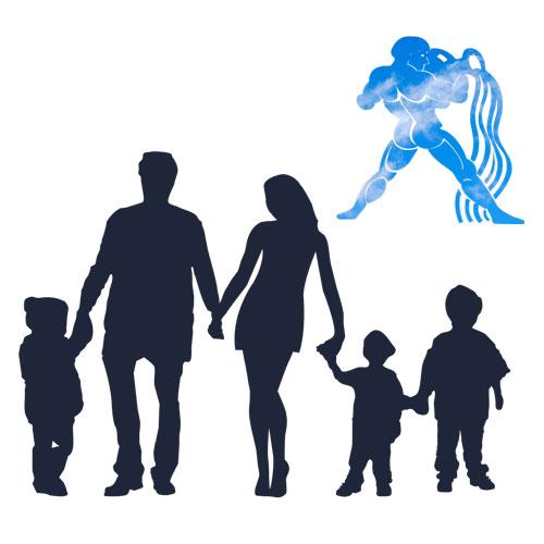 zodia varsator familie